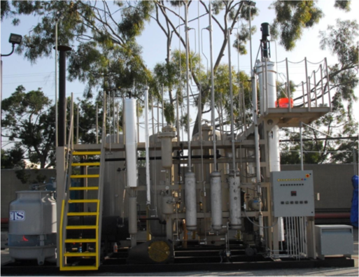 2008 Carson, CA Process: Gas-to-Liquid Capacity: 250 lbs/hour Feedstock: Bio solid Yield: 30,000 gal/year diesel